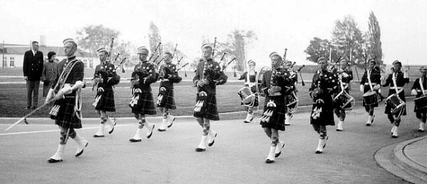 RMC Pipes & Drums 1965